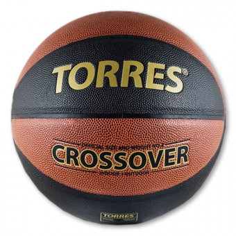 Мяч баскетбольный № 7 TORRES Crossover PU бутилов камера