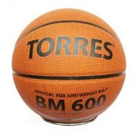 Мяч баскетбольный № 7 TORRES BM-600 Pu бутилов камера
