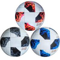 """Мяч футбольный """"MEIK-Telstar"""" реплика - PU3.0мм, 420 гр, термо сшивка"""