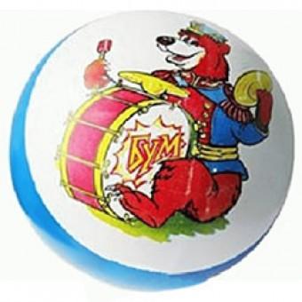 Мяч резиновый 125 мм (рисунок) (С75П) Р1-125