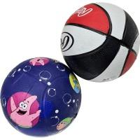 Мяч баскетбольный №1 цв. ассорти 43см