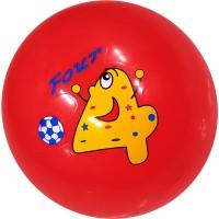 Мяч пластизолевый надувной Диаметр 18 см: 18СМ-1