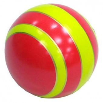 Мяч резиновый 125 мм (полоса)
