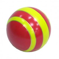 Мяч резиновый 150 мм (полоса) (С22ЛП, Р-3)