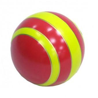 Мяч резиновый 150 мм (полоса)