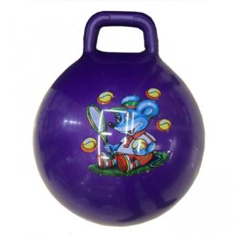Мяч с ручкой 55 см (25495-23)