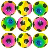 Мяч детский (порист. резина) 60 мм с рисунком (12 шт/уп)