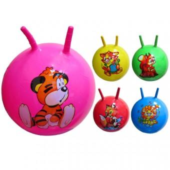 Мяч с рожками 60 см (25495-26) 5455-4