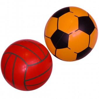 Мяч пластизолевый 22 cм (70 г) 25495-20