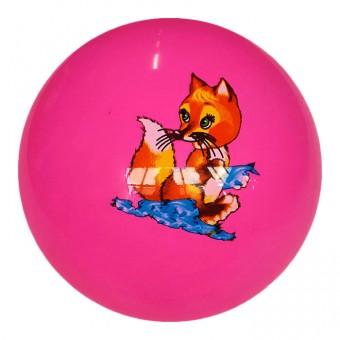 Мяч пластизолевый надувной 18см 25495-17, 32