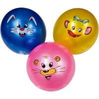 Мяч пластезолевый надувной 22 см 60 г 132543 (Арт.619-21A)