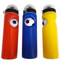Бутылочка для воды 0,75л., пластиковая.(син, желт, красн) WB 001
