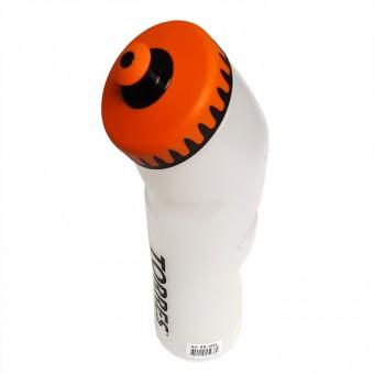 Бутылка для воды спортивная TORRES 0,75л пищевой пл, оранж-черн SS1028