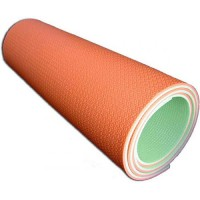 Коврик туристический цветной 180 х 60 х 0,8см двухслойный (цвет микс)