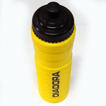 Бутылка для воды спортивная Diadora 0,75л пищевой пластик, цвет желтый WB8001