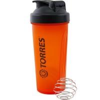 """Шейкер """"TORRES"""", 600мл,ярко-оранжевый S01-600-02"""