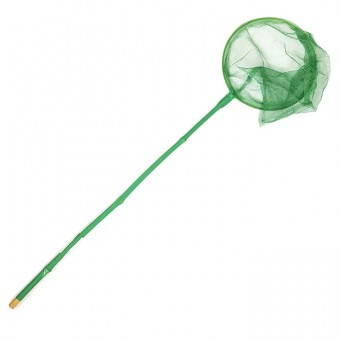 Сачок детский ручка бамбук 90х24см 6 цветов 9024,118376