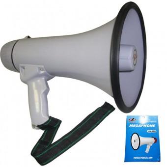 Мегафон большой с магн. устойч. слышим. до 900м. HQ-032 (HW-20B)