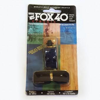 """Свисток пласт. """"FOX 40"""" на шнурке 11725"""