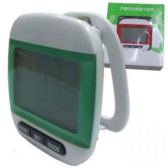 Шагомер электронный 3-х кноп с больш цифрами проф (Н10226)