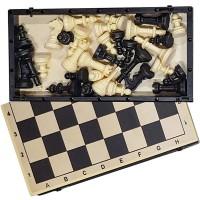 Шахматы гроссмейстерские 40х40см (деревопласт) с пл. фигурами (дервопласт)