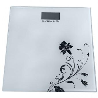 """Весы электронные, стеклянные, дизайн """"Бамбук"""" РА6537"""