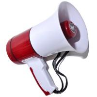 Мегафон: MS-16-004 Максимальная дальность звучания до 500 м.