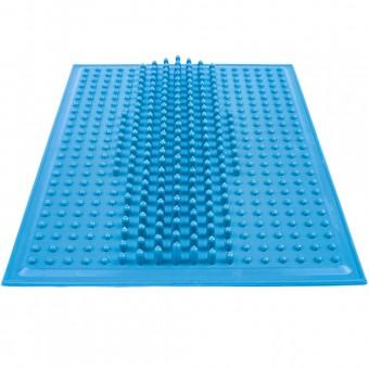 Коврик массажный для стоп (резина) 25х25 см