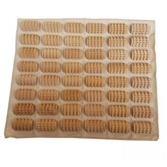 Коврик массажный (деревянные массажные валики на ткани) КМ 1102