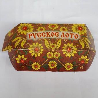 """Лото русское """"подарочное"""" гофрокарттон (М)"""