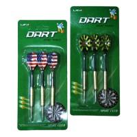 Набор дротиков д/дартса 18 гр (3шт/уп -метал) 7118