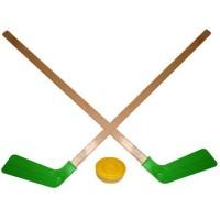Набор детского хоккея 2 клюшки +шайба+мяч Астрон