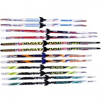 Лыжи п/пластик. 150 см Step