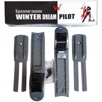Крепления лыжные NNN (WINTER DREAM) (PILOT) Новинка