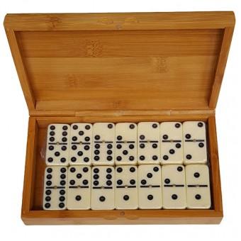 Домино подарочное в бамбуковой коробке 5010В