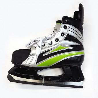 Коньки хоккейные ST - 5700 38рр (высококачественный нейлон,нубук,усиленный мыс из полиуретана)
