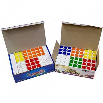 """Игра """"Куб Руб"""" 3х3 в коробке 6шт (357В,612) (цена за упаковку)"""
