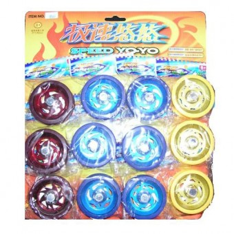 Игра Yo-Yo метал. бол 12шт/уп 8005В