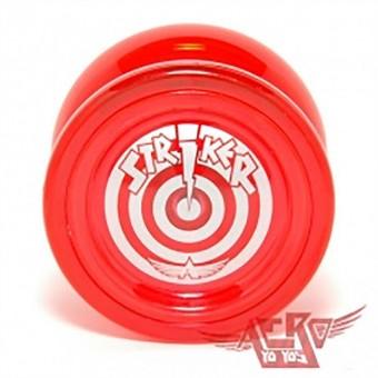 """Игра """"Yo-Yo AERO STRIKER метал. подшипник!!! (+ 2 противовеса для игры оффстринг: макака и шар, запасной подшипник, запас. тормоза) и инструкция"""