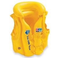 Жилет (жёлтый) (3-6 лет) 58660 (INTEX)