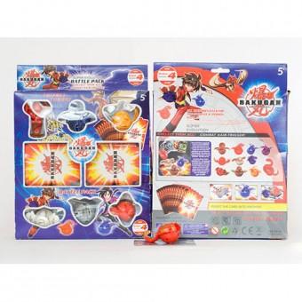 Бакуган в коробке 6шт + 18 карточек (6699)