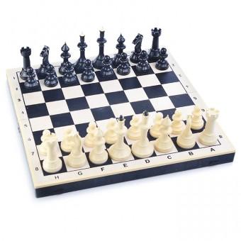 Доска шахматная Айвенго (дерево+пластик40/40 см) Владимир Большая