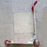 Самокат двухколёсный алюм+сталь SA01