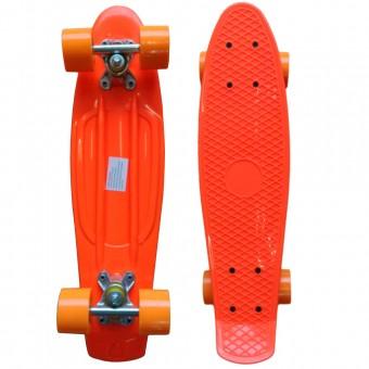 """Скейт (пенни борд) пласт. дека, 65см (27""""), ширина 15 см, колеса-59мм, авес-7 211"""
