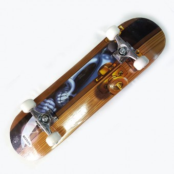 Скейтборд (русский клен; колеса PU; Авес-7) SBN-67