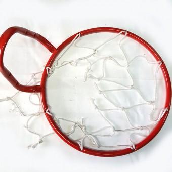 Кольцо баскетбольное №5 (с сеткой)диам.380 мм (Т)