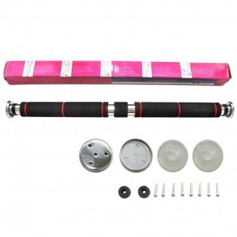 Турник-распорка в дверн. проём хром, метал. (60-100см) HKGM 101