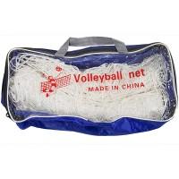 Сетка волейбольная белая 950*100см, d нити - 4 м, утолщен., в сумочке G092С