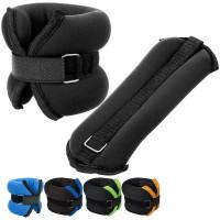 "Утяжелители ""ALT Sport"" (2х0,3кг) в сумке (нейлоновый, дробь) HKAW101"