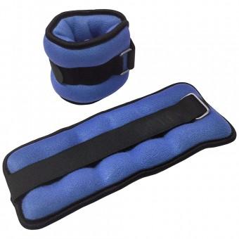 "Утяжелители ""ALT Sport"" (2х1,0кг) (нейлон) в сумке HKAW103"